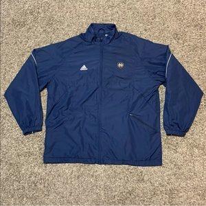 Adidas Clima Lite Notre Dame Patch Large L Jacket